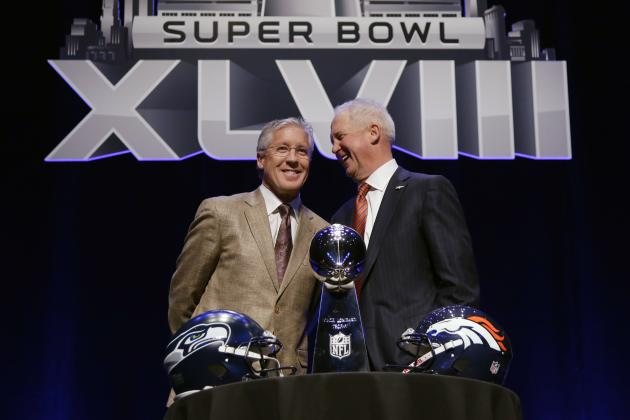 Super Bowl 2014 Point Spread: Betting Trends That Favor Broncos over Seahawks
