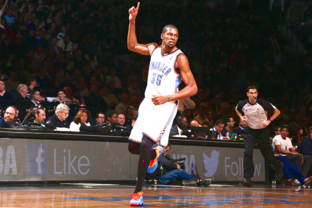 Kevin Durant Genuinely Glad to Put 30-Point Streak Behind Him