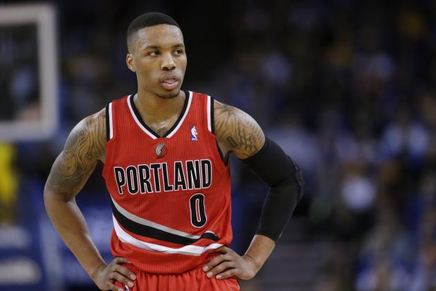 How Concerned Should Portland Trail Blazers Be About Damian Lillard's Slump?