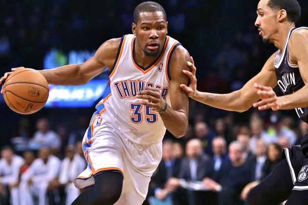 Kevin Durant's 30-Point Streak Ends, but His Facilitating Should Continue