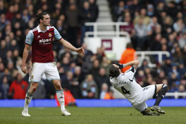 Andy Carroll Red Card: How West Ham Will Cope in Star's Absence