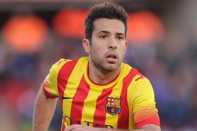 Jordi Alba Red Card: How Barcelona Will Fare in Star's Absence