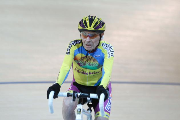 102-Year-Old Robert Marchand Breaks Speed Cycling World Record