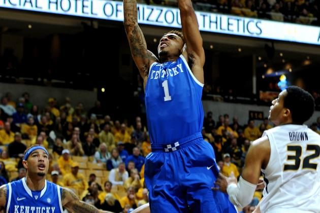 No. 11 Kentucky Escapes Missouri, 84-79