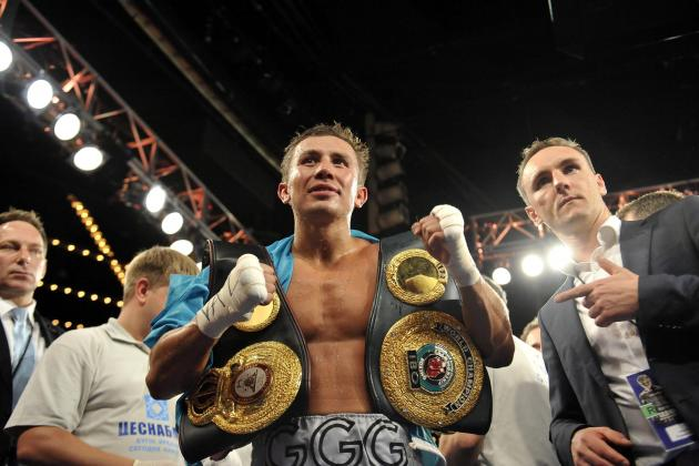 Gennady Golovkin Stops Osumanu Adama in the 7th for His 16th Straight Knockout