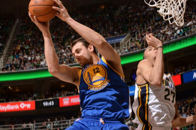 Curry, Bogut Rally Warriors Past Jazz