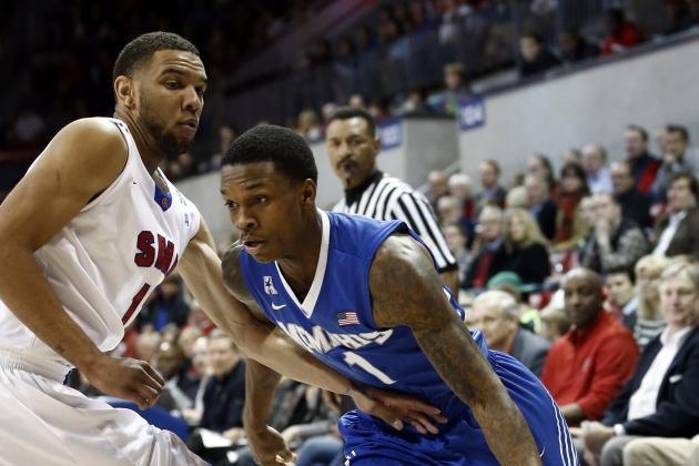 SMU Upsets No. 22 Memphis 87-72 to Go 11-0 at Home