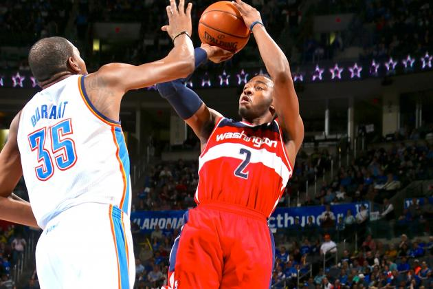John Wall Already Pitching Kevin Durant on Joining Wizards in 2016 Free Agency