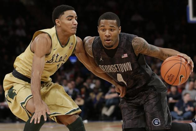 Michigan State vs. Georgetown: Score, Recap and Analysis for Hoyas Upset Win