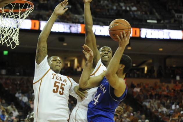 Holmes Powers Texas over No. 6 Kansas 81-69