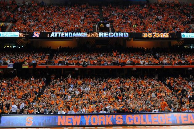 Duke-Syracuse Crowd Breaks CBB Record