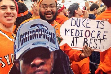 PHOTOS: Syracuse Fans Get Their Sign Game on at the Carrier Dome