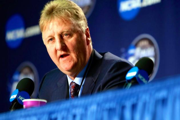 Larry Bird Refutes Notion Pacers Signed Andrew Bynum to Keep Him from Miami Heat