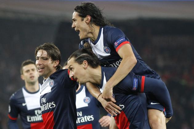 PSG's Ibrahimovic & Cavani Watch: Swede Scores, Injury Concern for El Matador