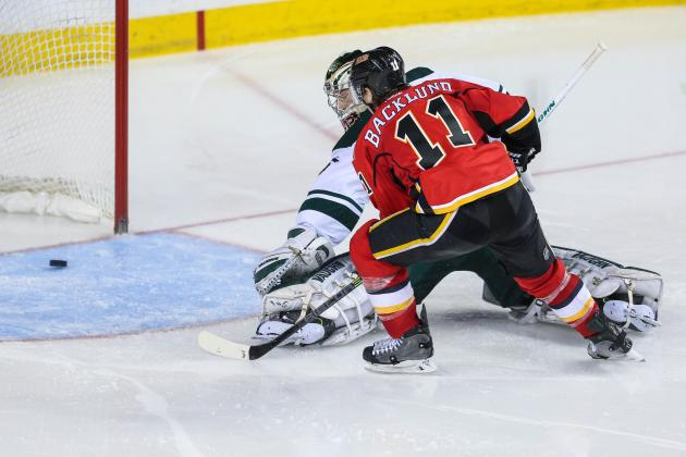 Video: Backlund's OT Winner Gives Flames Five Straight Wins
