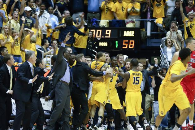 Cal's Stunner over No. 1 Arizona Tops Crazy Day of Upsets in NCAA Basketball