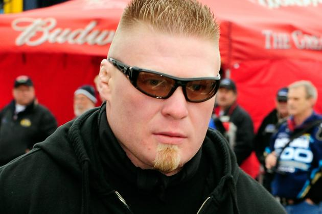 White on Brock Lesnar: 'We Don't Have a Deal, He's Not Coming Back Anytime Soon'