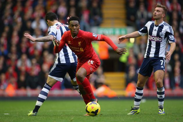 West Bromwich Albion vs. Liverpool: Live Player Ratings for Both Teams