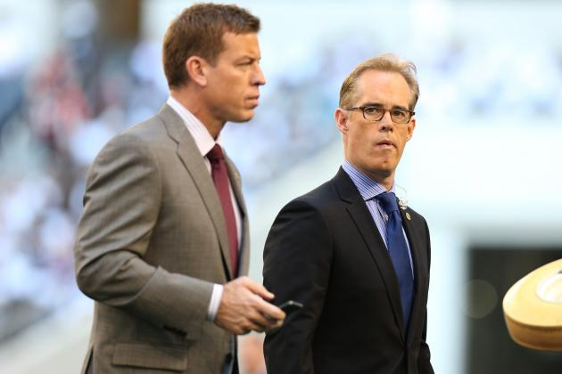 Troy Aikman and Joe Buck Discuss Health, Preparation and More Before Super Bowl
