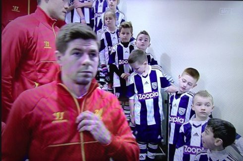 Liverpool's Match Against West Brom Could Be Men Against Boys, Judging by Pic