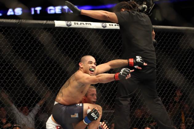 Barao vs. Faber 2: Why a Referee's Job Is Thankless