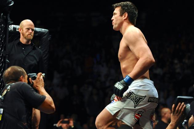 Chael Sonnen vs. Wanderlei Silva Will Co-Main on Weidman vs. Belfort Card