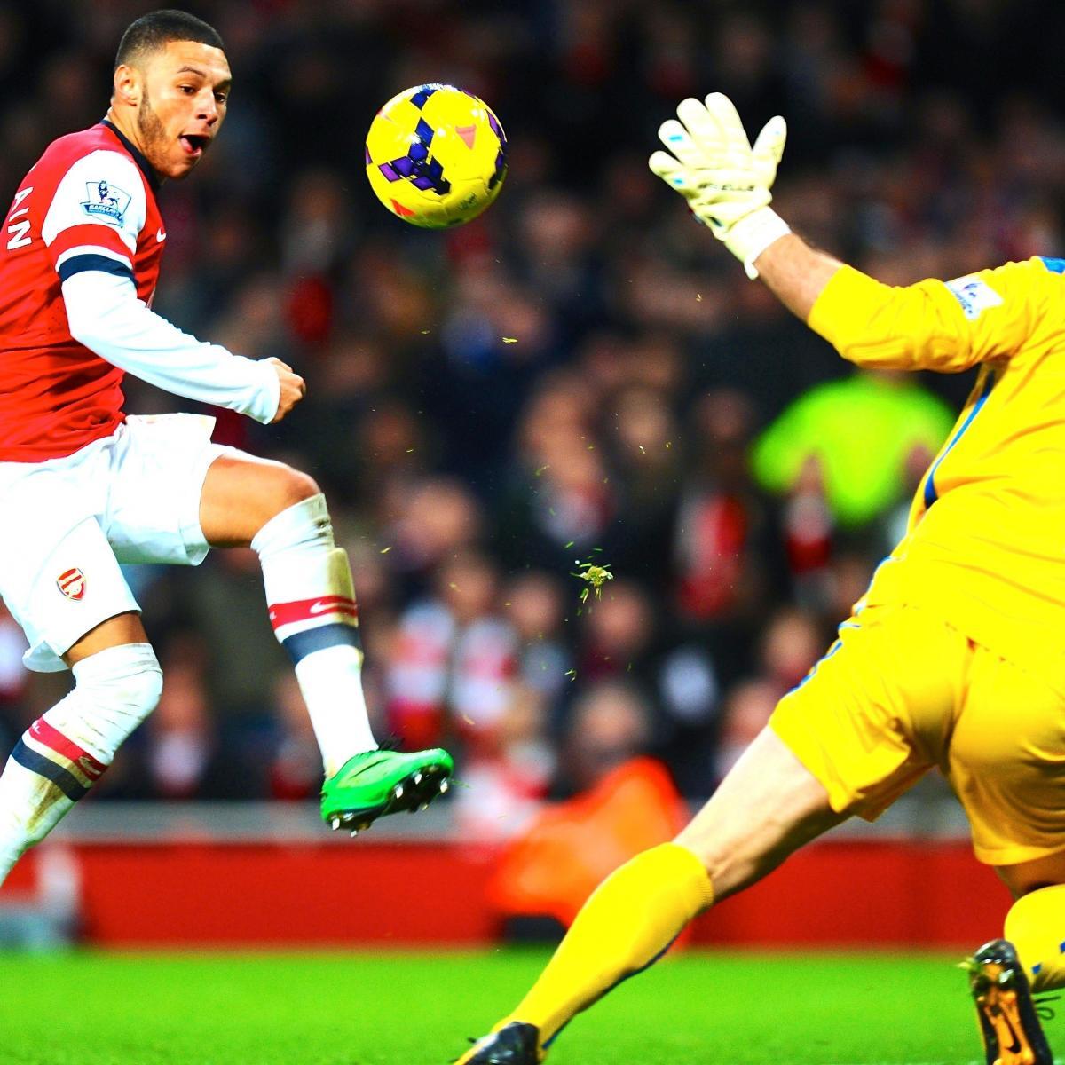 Arsenal Vs Barcelona Live Score Highlights From: Arsenal Vs. Crystal Palace: Premier League Live Score
