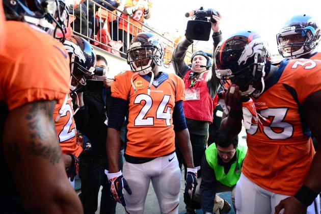 Champ Bailey, John Fox address team Saturday