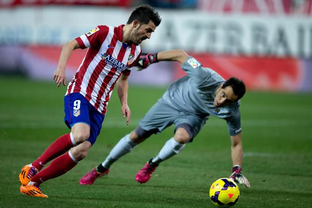 GIF: David Villa Scores for Atletico Madrid vs. Real Sociedad