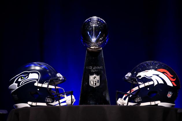 Super Bowl 2014: Over/Under and Prop Bet Locks for Seahawks vs. Broncos