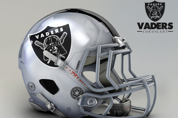 NFL Helmets Receive 'Star Wars' Treatment with Mash-Up