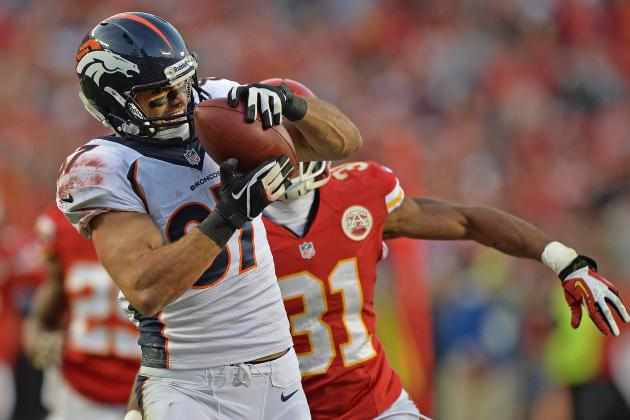 Report: Broncos Fear They'll Lose Decker in Free Agency