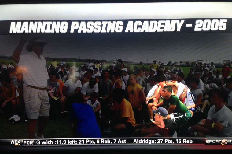 10th-Grade Russell Wilson Was a Camper at the Manning Passing Academy