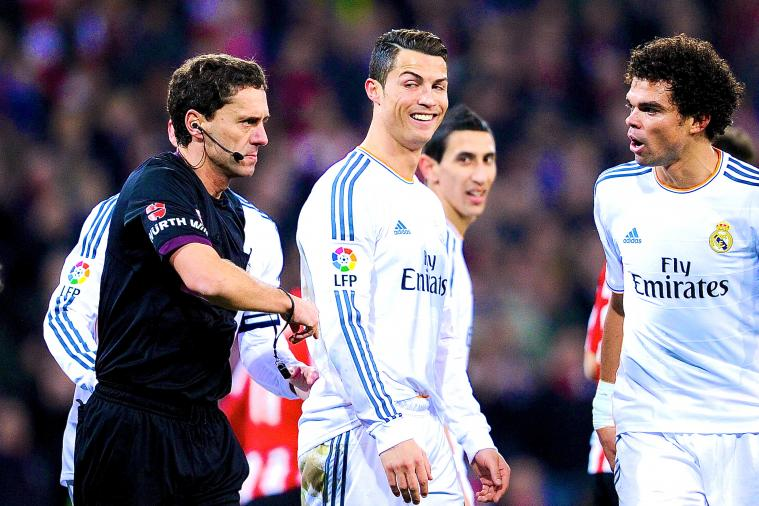 Cristiano Ronaldo Sent Off for Real Madrid at Athletic Bilbao