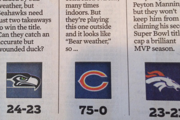 Chicago Columnist Picks Bears to Win Super Bowl XLVIII