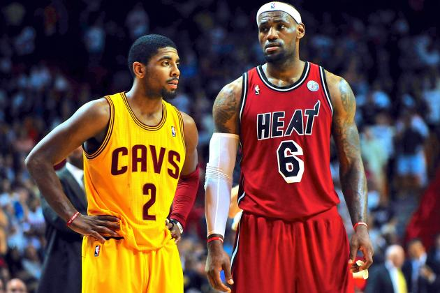 Will Kyrie Irving Follow LeBron James' Blueprint Away from Cleveland Cavaliers?
