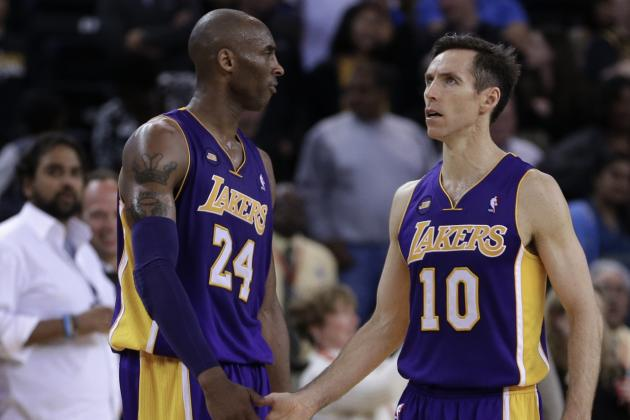 Will Kobe Bryant and Steve Nash Even Be Able to Play Together?