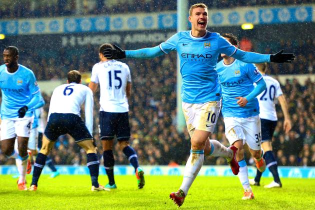 Can Manchester City Accommodate Sergio Aguero, Alvaro Negredo and Edin Dzeko?