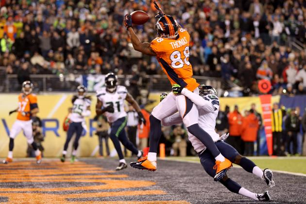 Demaryius Thomas Breaks Super Bowl Record for Most Receptions