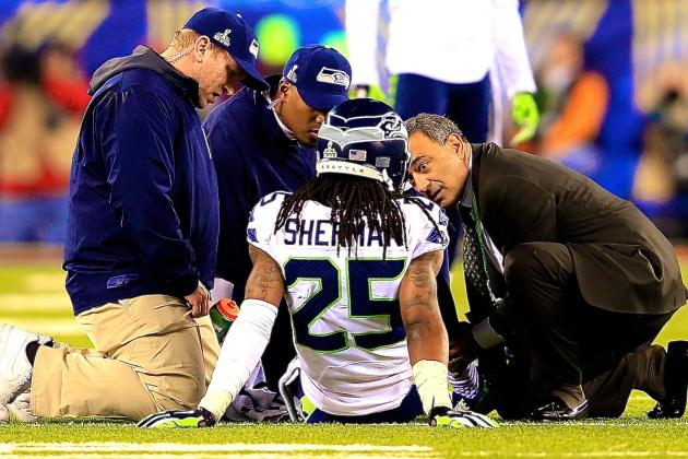 Richard Sherman Injury: Updates on Seahawks CB's Ankle and Recovery
