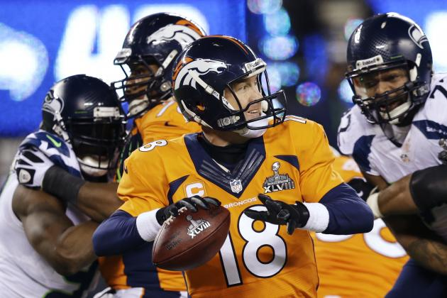 Peyton Manning Sets Super Bowl Record for Most Completions
