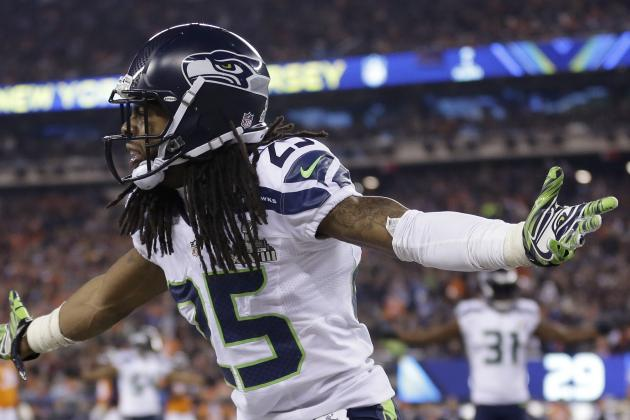 Richard Sherman Discusses 2014 Super Bowl Victory with Rachel Nichols
