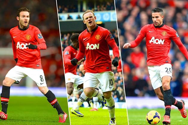 How Rooney, Van Persie and Mata Can Work Together at Manchester United
