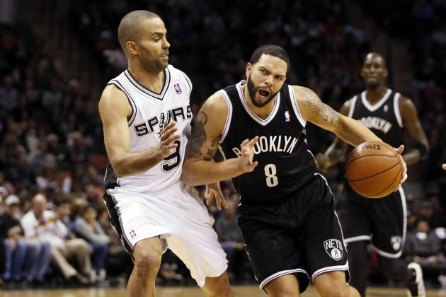Deron Williams Admits Confidence Is Low, 'It's Just Been a Struggle'