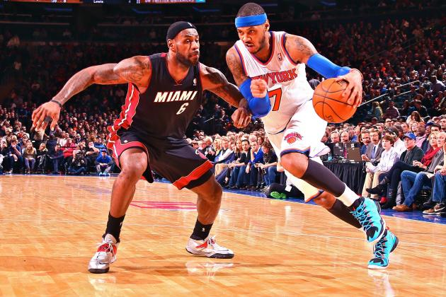 LeBron James: Carmelo Anthony's 'Number One Thing' in Free Agency Is to Win