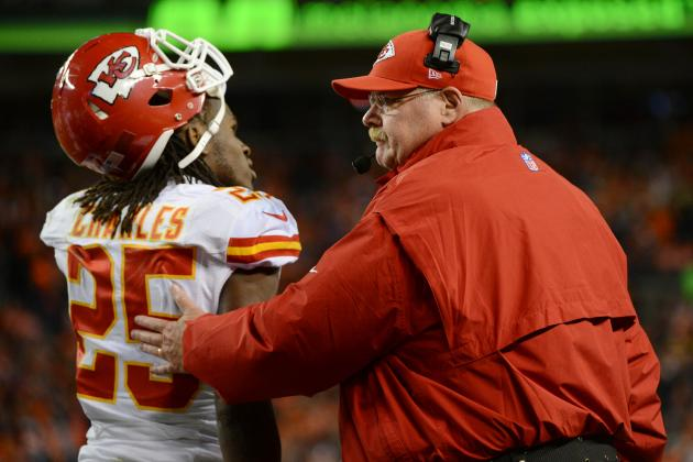 Andy Reid, Jamaal Charles Miss on Awards