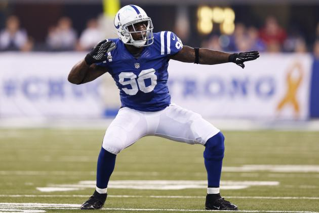 Robert Mathis Finishes 2nd in DPOY