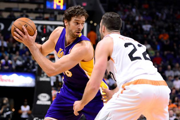 How Pau Gasol Trade Would Impact Phoenix Suns' Rebuilding Plan