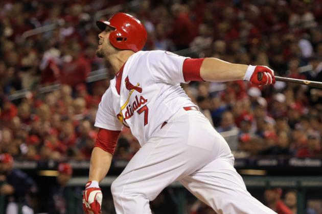 Matt Holliday Should Hit Second for the Cardinals