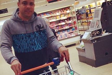 Ronaldo Instagrams Picture with Trolley Full of Food: Write Your Own Joke